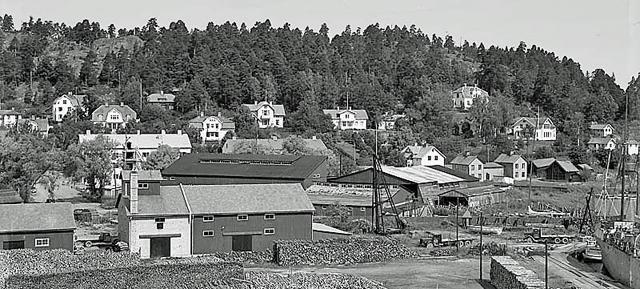 HAMNOMRÅDET 1920-TALET